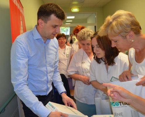 szpital plock gojenie ran2 495x400 - Hexanova laureatem nagrody podczas XVI Ogólnopolskiej Konferencji Medycyny Paliatywnej