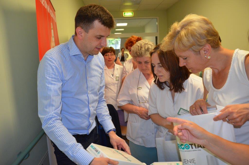 szpital plock gojenie ran2 - W dniu 17.06.2016 w Szpitalu Wojewódzkim w Płocku odbyła się z udziałem firmy Hexanova