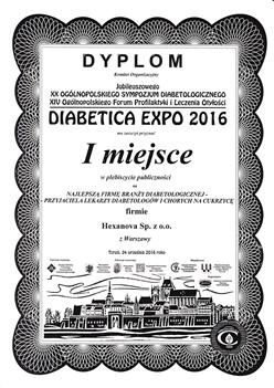 SCN 0081 1 1 - Hexanova laureatem nagrody podczas XVI Ogólnopolskiej Konferencji Medycyny Paliatywnej