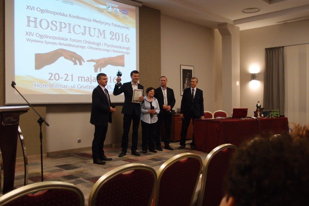 Torun 05 16 P5210423 - Hexanova laureatem nagrody podczas XVI Ogólnopolskiej Konferencji Medycyny Paliatywnej