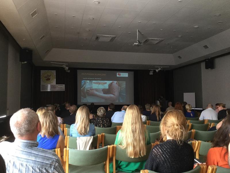 operzenia poznan2 - Argotiab krem zajął I miejsce w Plebiscycie Uczestników XVIII Ogólnopolskiego Sympozjum Oparzenia 2016
