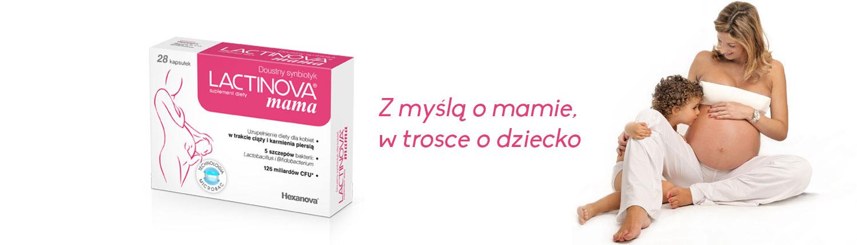 lact mama - LACTINOVA<sup>®</sup> mama - naturalny symbiotyk dla kobiet w ciąży